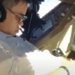 China Airlines pilot is caught SLEEPING in the cockpit