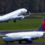 Delta, Alaska Airlines Upgrade Aircraft