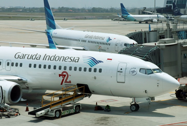Indonesia's Garuda Airlines