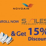 """Dhaka Travel Mart-2019""- NOVOAIR announced 15% Discount all destination"
