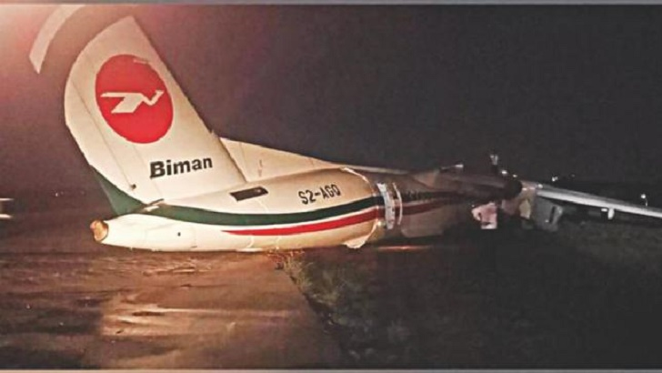 Biman Bangladesh Airlines crash