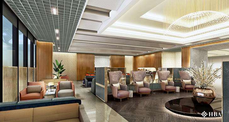 Singapore Airlines Renovating Changi Lounges