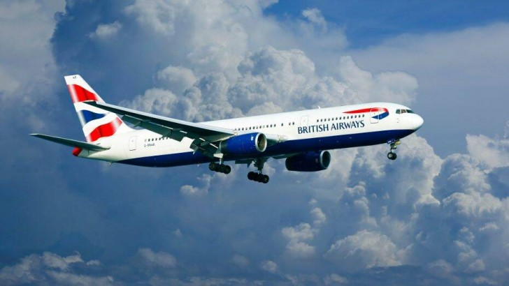 British-Airways-flight