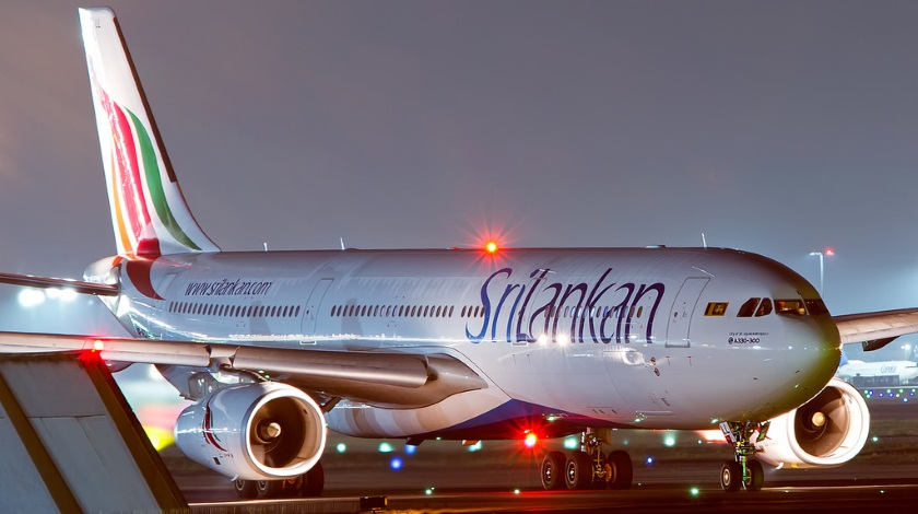 SriLankan-Airlines-Airbus-A330-Bursts-Tyre-on-Landing
